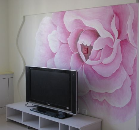 天津798文化创意有限公司_墙绘_手绘墙_彩绘_壁画_墙画